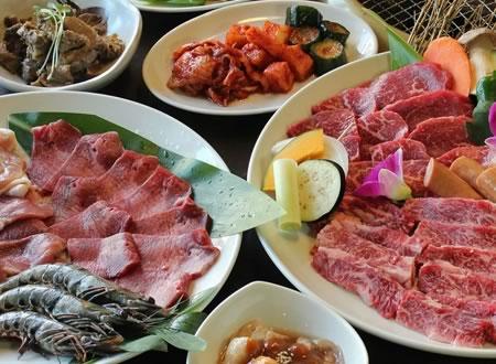 Ishigaki-Beef Yakiniku Asooted